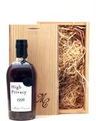 Michel Couvreur High Privacy 1998/2018 20 år Whisky 43,8%