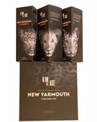RomDeLuxe Wild Series Rum New Yarmouth Tasting Kit 3x25 cl