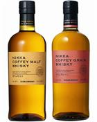 Nikka Coffey Malt + Nikka Coffey Grain Whisky Japan 45%