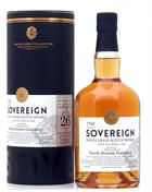North British 1989 Sovereign 26 år Single Grain Scotch Whisky 59,9%