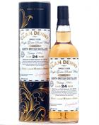 North British 1991/2016 The Clan Denny 24 år Single Grain Whisky 49,8%