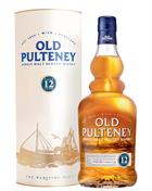 Old Pulteney 12 år Old Version Single Highland Malt Whisky 40%