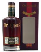 Opthimus Rum 25 år barricas de Malt Whisky Finish Dominikanske Republik rom 43%