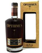 Opthimus Rum 25 år barricas de Malt Whisky Finish