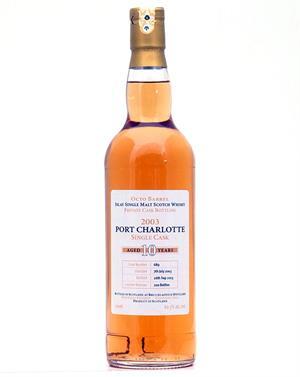 Port charlotte bruichladdich 2003 2013 private cask bottling 10 r octo barrel single islay malt - Bruichladdich port charlotte ...