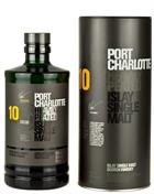 Port Charlotte Scottish Barley 10 år Single Islay Malt Whisky 50%