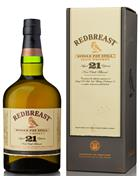 Redbreast 21 år Single Irish Pure Potstill Whiskey Irsk 46%