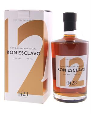 Ron Esclavo Solera 12 år 1423 World Class Rum Dominikanske Republik rom 40%