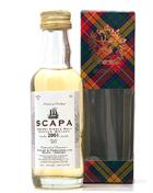 Scapa 2001/2012 Miniature / Miniflaske 5 cl Single Orkney Malt Whisky 43%
