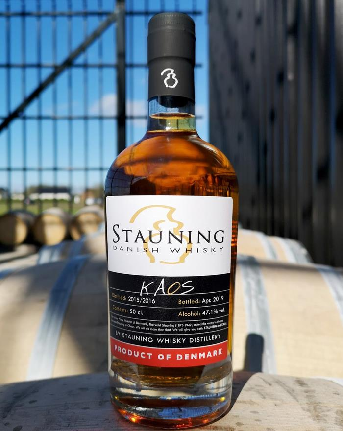 Stauning KAOS April 2019 Dansk Single Malt Whisky 47,1%