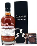 Stauning Whisky Peated GUST Private Cask no 448 Danish Peated Single Malt Whisky 53%