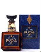 Suntory Royal 15 år Blended Whisky Japan 43%