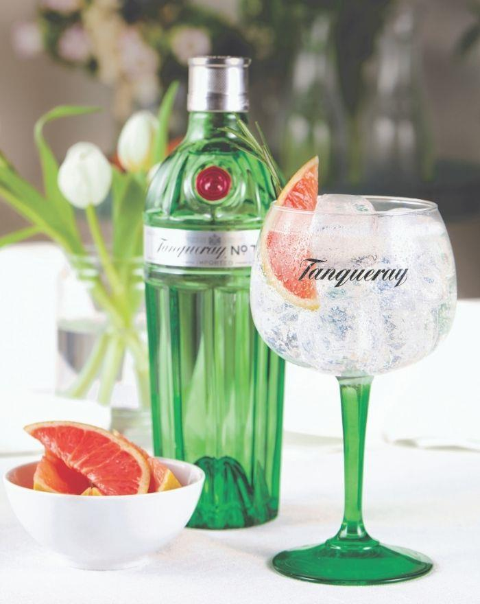 Tanqueray No Ten Gn and Tonic