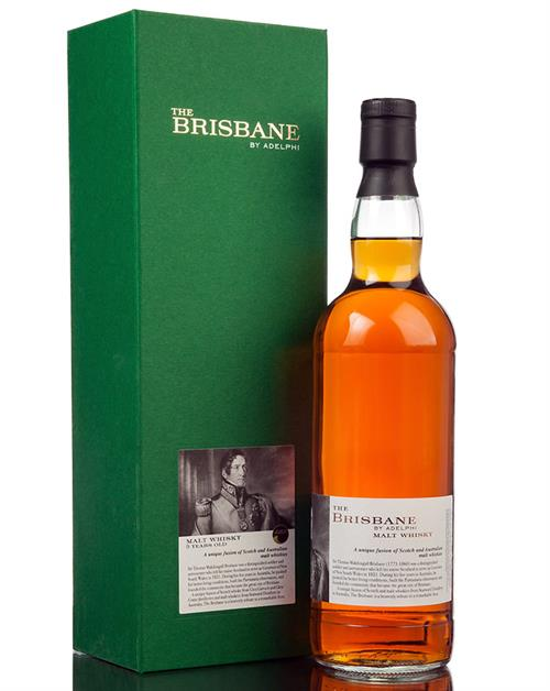 The Brisbane by Adelphi 5 år Fusion of Australian and Scotch Malt Whisky 57,5%