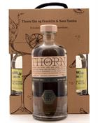 Thorn Gin med 4 x Franklin Tonicvand Premium London Dry Gin Litauen 70 cl