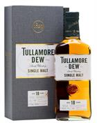 Tullamore Dew 18 år Triple Distilled Irish Single Malt Whiskey 41,3%