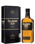 Tullamore Dew Trilogy 15 år Triple distilled Irish Single Blend Whiskey 40%