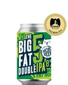 Uiltje Big Fat 5 Double IPA India Pale Ale Specialøl 33 cl 8%