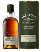 Aberlour 16 år Single Speyside Malt Whisky 40%