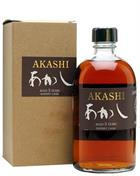 Akashi 5 yr Sherry Cask White Oak Distillery Eigashima Single Malt Whisky 50 cl