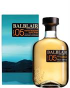 Balblair Vintage 2005 Travel Retail 1 st release Single Highland Malt Whisky 46%