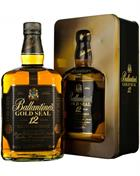 Ballantines Gold Seal 12 år Old Version Blended Whisky 40%