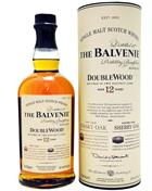 Balvenie Doublewood 12 år Single Speyside Malt Whisky 40%