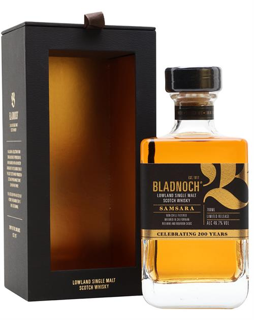 Bladnoch Samsara Single Lowland Malt Whisky 46.7%