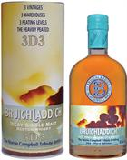 "Bruichladdich 3D 3 ""The Norrie Campbell Tribute Bottling""  Single Islay Malt Whisky 46%"