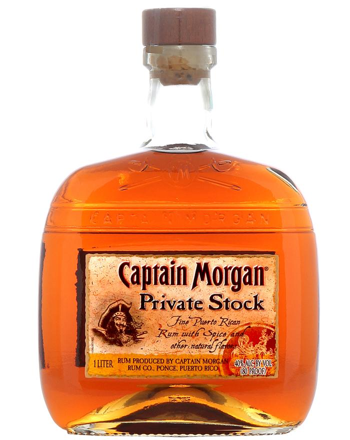 Captain Morgan Private Stock 1 Liter Fine Puerto Rican Rum
