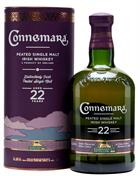 Connemara 22 år Peated Irish Single Malt Whiskey