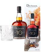 Dictador 10 years old Rum