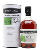 Diplomatico Distillery Collection No 3 Pot Still Venezuela Rom 47%