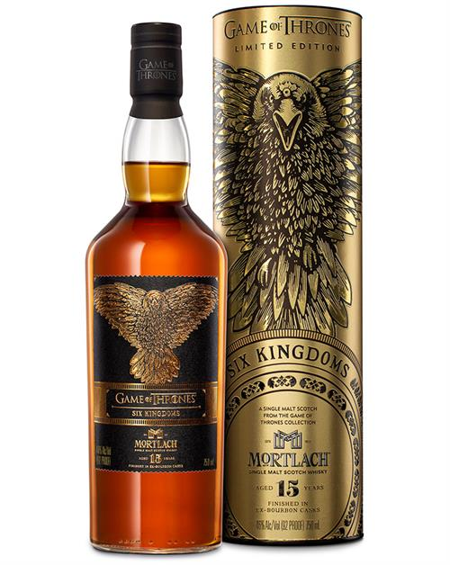 Mortlach 15 Six Kingdoms Game of Thrones Whisky Collection