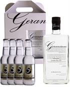 Geranium Premium London Dry Gin Hammer and son England