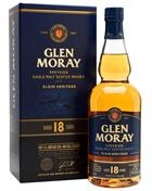 Glen Moray 18 år Single Speyside Malt Whisky 47,2%