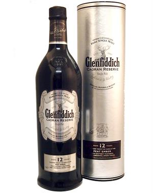 Glenfiddich 12 år 1 liter Caoran Single Speyside Malt Whisky 40%