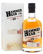 Hammerhead 1989/2012 Pradlo Distillery 23 år Czech Vintage Single Malt Whisky