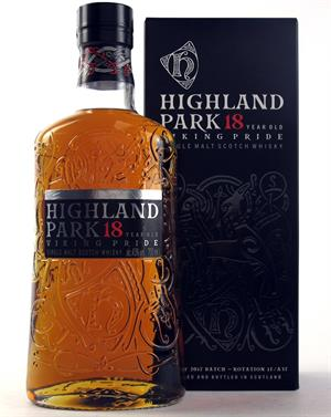 Highland Park 18 år Single Orkney Malt Whisky 43%