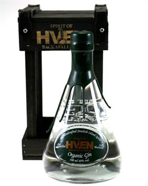 Hven Gin Organic Oak Matured Gin Svensk Backafallsbyn 40%