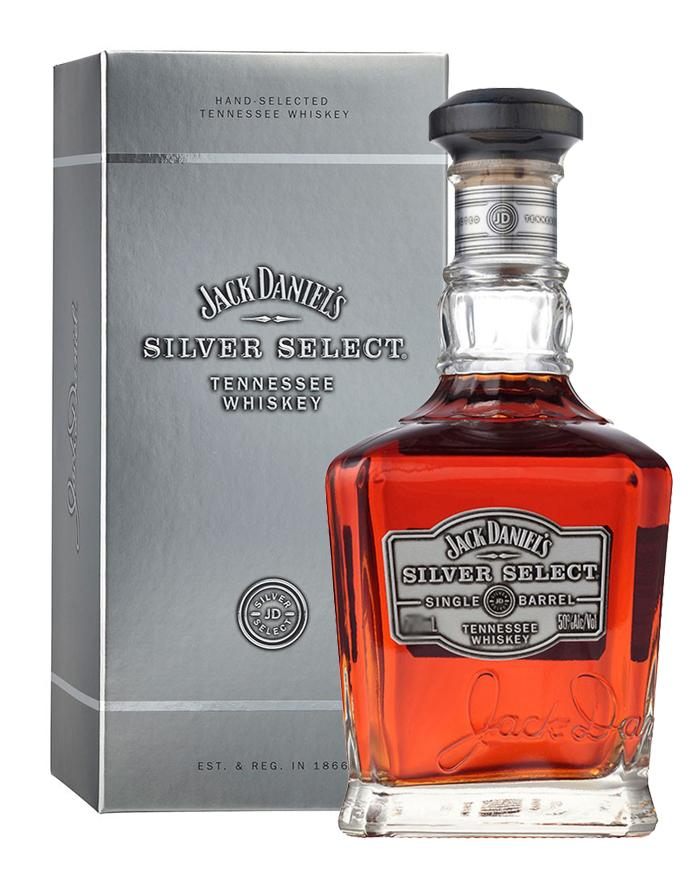 jack daniels silver select rare tennessee whiskey 50. Black Bedroom Furniture Sets. Home Design Ideas