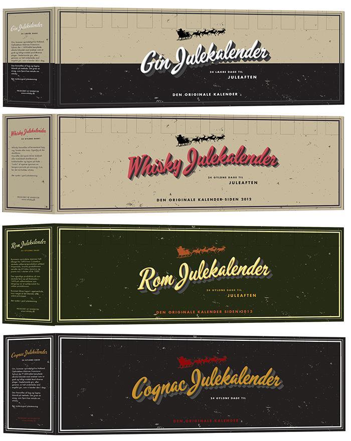 Whisky pakkekalender