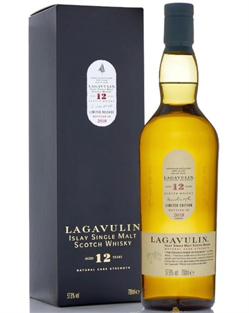 Lagavulin 12 år Limited Edition 2018 Single Islay Malt Whisky 57,8%