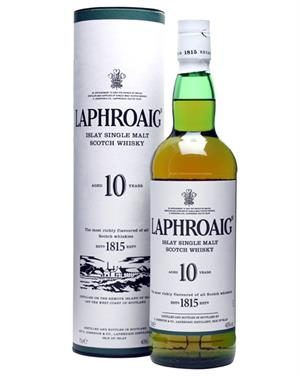 Laphroaig 10 år Single Islay Malt Whisky 40%