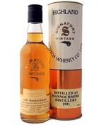 Mannochmore 1991/2004 Signatory 35 cl African Sherry Butt Highland Single Malt Scotch Whisky 43%