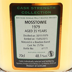 Mosstowie Whisky