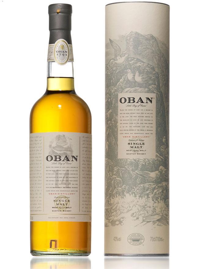 Velsete Oban 14 år Single Highland Malt Whisky 43% KG-02