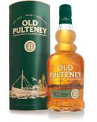 Old Pulteney 21 �r Single Highland Malt Whisky 46%