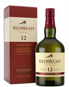 Redbreast 12 år Single Irish Pure Potstill Whiskey Irsk 40%