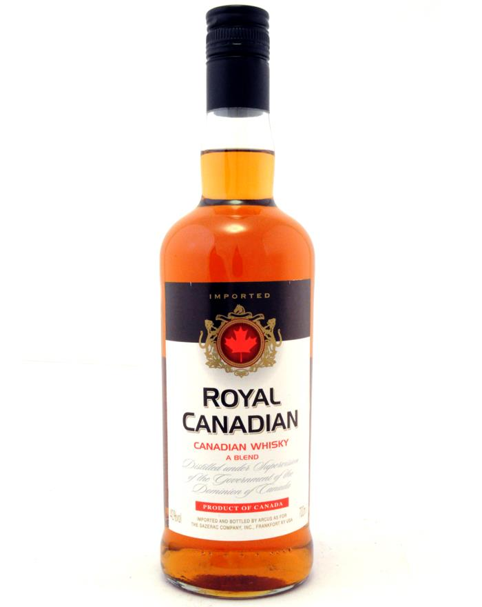 Royal Canadian Blended Canadian Whisky 40%